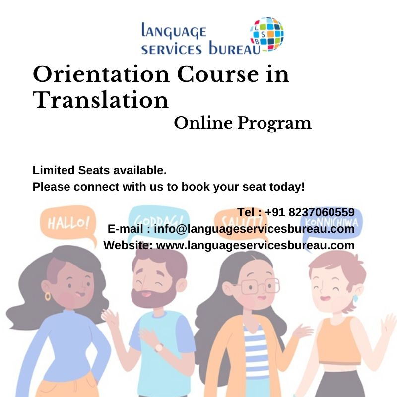 Orientation Course in Translation